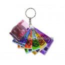 ingrosso Articoli da Regalo & Cartoleria: Portachiavi 6.5cm banconote in euro