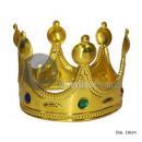 kroon ingelegd met goud ronde tips