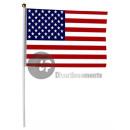 grossiste Gadgets et souvenirs: drapeau usa petit  lot de 12 drapeaux 15x22cm