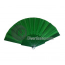 wholesale Costume Fashion: dark green plastic fan 22cm