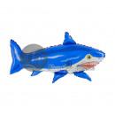 aluminio globo metalizado 100x65cm tiburón