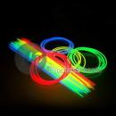 lot 50 neon necklaces 57cm assorted colors