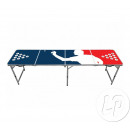 beer pong player table