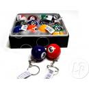 Keychain 3.3cm ball pool (box)