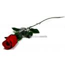 artificial rose flower velvet 65cm