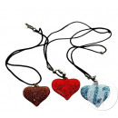 wholesale Jewelry & Watches: scintillating heart necklace mix