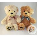 teddybeer met tape tegels 40cm