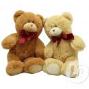 Teddy beer zit met rood lint 33cm