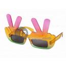 Großhandel Brillen: gag-Brille mit zwei Fingern