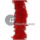 groothandel Home & Living: Boa 50gr 1.90m red & silver