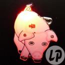 groothandel Home & Living: badge / LED roze varken magneet