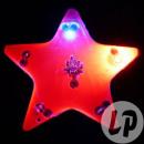 badge / magnet LED red star