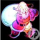 groothandel Kindermeubilair: Kerstman geleid badge en tas