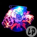 wholesale Illuminants: badge / magnet led wild tiger