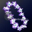 ingrosso Gioielli & Orologi: Tahiti 120  millimetri collana lila bianco e blu nu