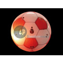 groothandel Home & Living: badge / magneet  Red & White LED Football