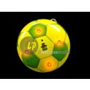 badge / magnet LED yellow & green soccer