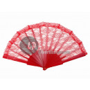 wholesale Costume Fashion:red fan lace