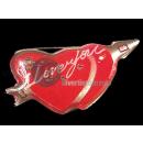 groothandel Home & Living: badge dubbele LED  rood hart ik hou van je