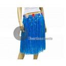 grossiste Jupes:jupe tahiti 60cm bleu