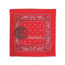 red bandana paisley style