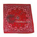 Kaschmir rotem Kopftuch Runde Stil