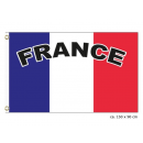 drapeau france 90x150cm avec inscription france
