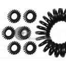 little darling black elastic strap or spiral