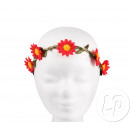Crown of red flowers 04