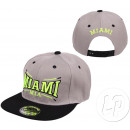 Großhandel Kopfbedeckung: miami Hysteresenkappe grau & schwarz