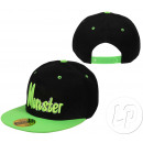 Großhandel Kopfbedeckung: Hysteresenhut Monster schwarz-grün