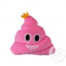 Pillow emoticone caca Princess pink 29cm
