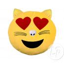 Poduszka emoticon 33cm miłośników kotów