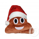 wholesale Cushions & Blankets: Pillow christmas emoticon poo smile 29cm