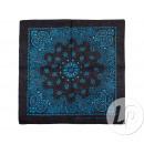 Großhandel Tücher & Schals: bandana black & blue Kaschmir Stil