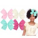 vlinderdas clip strip met clip mix hart