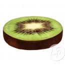 wholesale Cushions & Blankets: Pillow round slice of kiwi 35cm