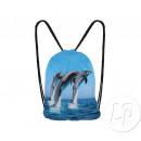 groothandel Rugzakken:rugzak dolfijnen 32x37cm