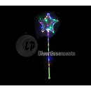 balloon star led luminous medusa 1.28m