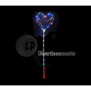 balloon heart led luminous medusa 1.35m