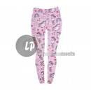 Großhandel Hosen: rosa einhorn gemusterte leggings