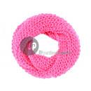 Großhandel Tücher & Schals: rosa Strickschlauchschal Weg