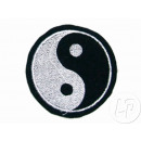 distintivo ying yang e asse da stiro