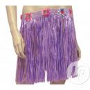 Großhandel Röcke: kurzer Rock Tahiti 40cm lila