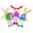 nagyker Játékok:plüss babák 30cm-es mix