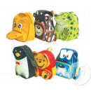 Großhandel Rucksäcke:Rucksack Tiere Mix 30cm