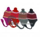 wholesale Pictures & Frames: Peruvian bonnet with pompons mix 12049