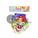 hurtownia Zabawki: zestaw 4 klaunowych masek kartonowych dla ...