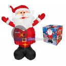 Inflatable and bright giant Santa Claus 3m
