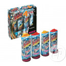 grossiste Feux d'artifice: lot de 4 fontaines turbulence